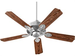 Quorum International Hudson Galvanized Indoor Ceiling Fan
