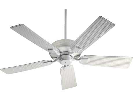 Quorum International Marsden Studio White 52 Inch Outdoor Ceiling Fan