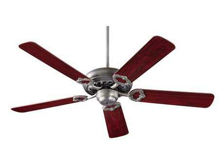 Quorum International Monticello Antique Silver 52 Inch Indoor Ceiling Fan