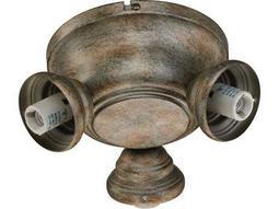 Quorum International Salon Mystic Silver Three-Lights Fan Light Kit