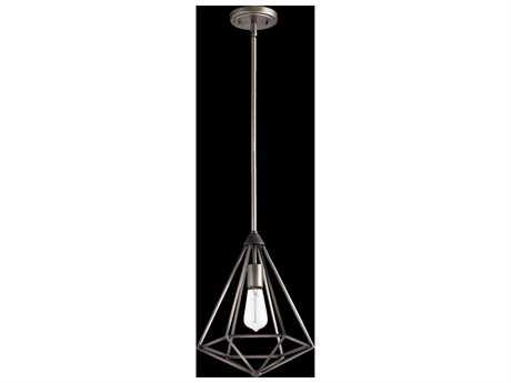 Quorum International Bennett Antique Silver Pendant Light