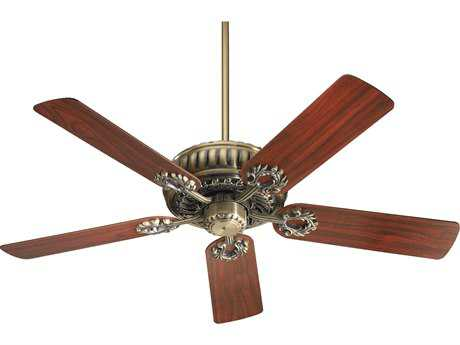 Quorum International Empress Antique Brass 52 Inch Indoor Ceiling Fan