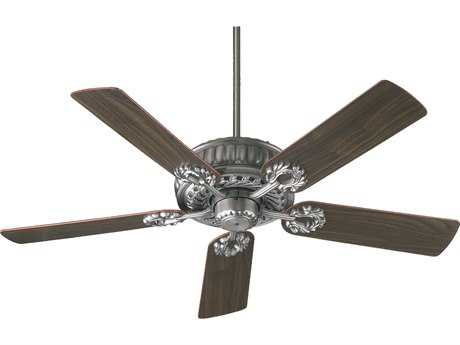 Quorum International Empress Antique Silver 52 Inch Indoor Ceiling Fan