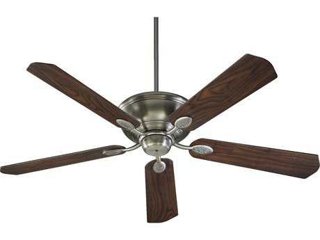 Quorum International Kingsley Antique Silver 60 Inch Indoor Ceiling Fan