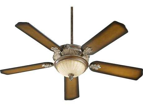 Quorum International Galloway Mystic Silver 52 Inch Indoor Ceiling Fan with Light