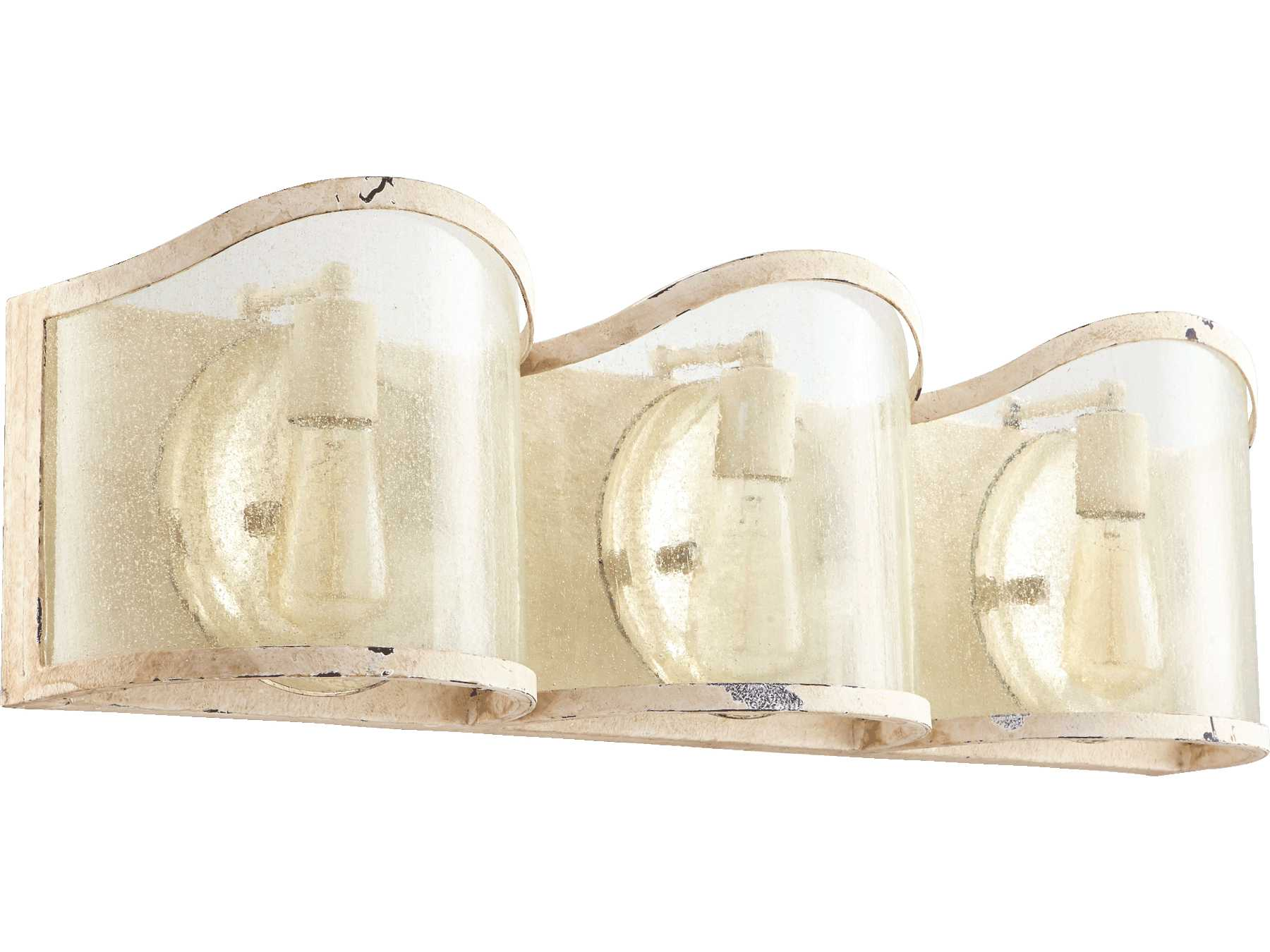 Quorum international salento persian white three light for International decor wall lights