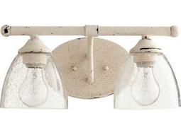Quorum International Brooks Persian White Two-Light Vanity Light