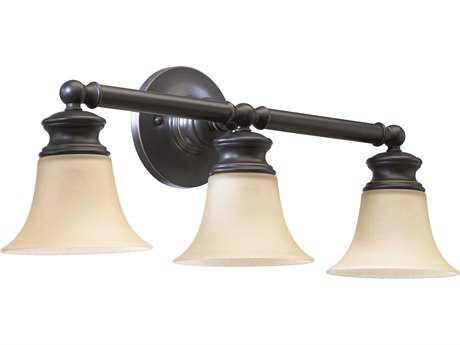 Quorum International Madison Old World Three-Lights Vanity Light