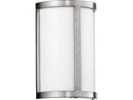 Quorum International Omega Satin Nickel Two-Lights Wall Sconce