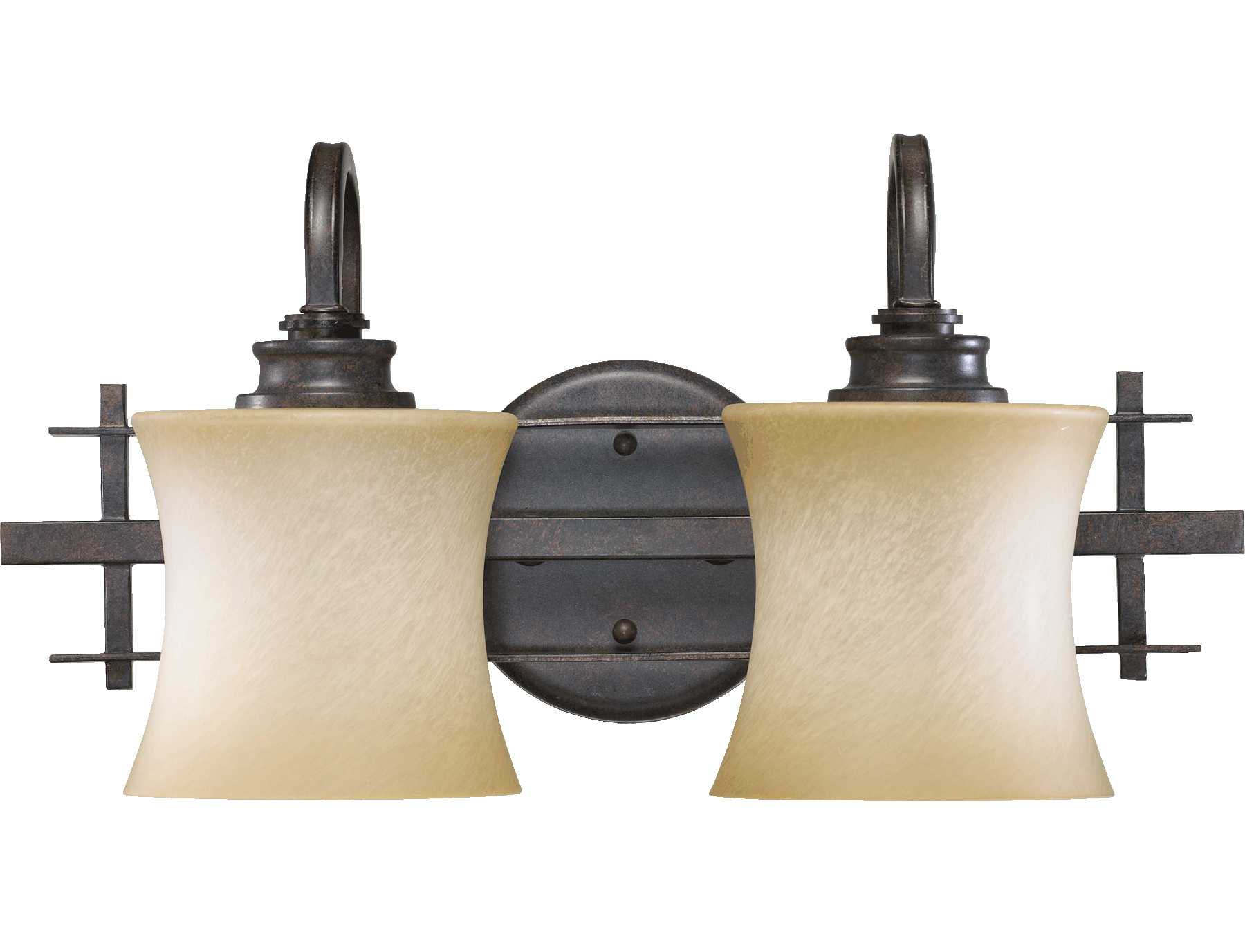 Quorum international prairie toasted sienna two lights for International decor wall lights