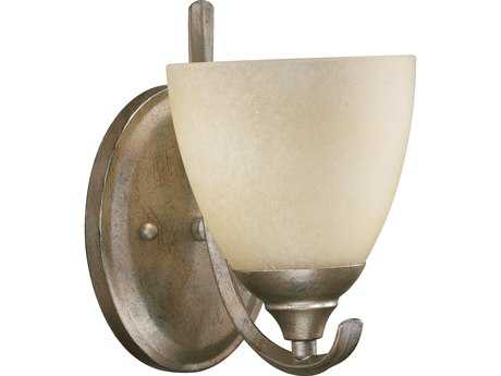 Quorum International Powell Mystic Silver Wall Sconce