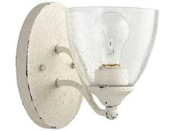 Quorum International Brooks Persian White with Clear/Seeded Wall Sconce