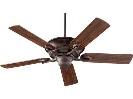 Quorum International Lowell Oiled Bronze 52'' Indoor Ceiling Fan