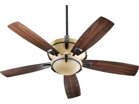 Quorum International Mendocino Old World 52 Inch Indoor Ceiling Fan with Light