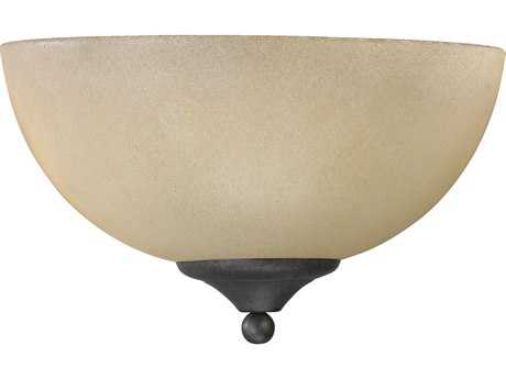 Quorum International Hemisphere Toasted Sienna Wall Sconce
