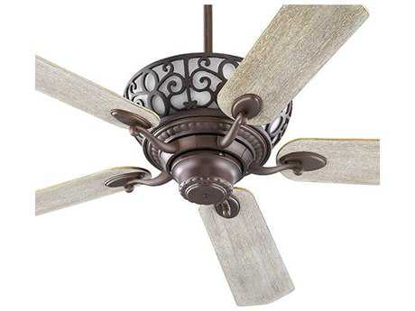 Quorum International Cimarron Oiled Bronze Indoor Ceiling Fan