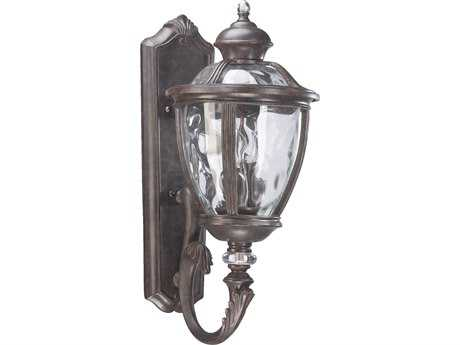 Quorum International Sloane Baltic Granite Three-Lights Outdoor Wall Lantern