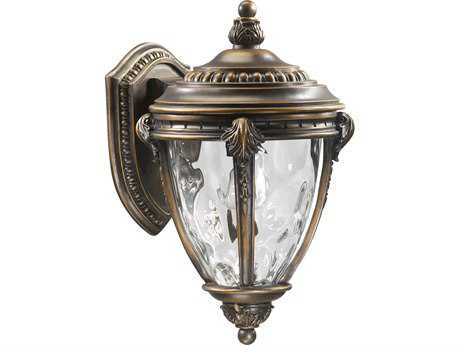 Quorum International Pemberton Bronze Patina Outdoor Wall Lantern