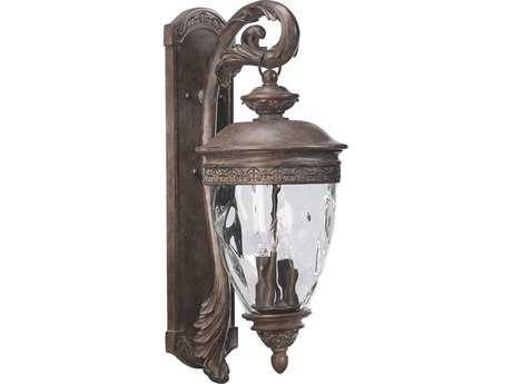 Quorum International Georgia Etruscan Sienna Four-Lights Outdoor Wall Lantern