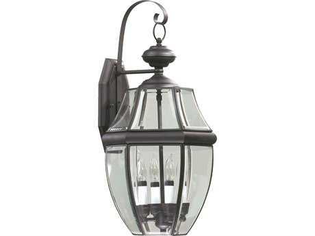 Quorum International Carrington Bronze Four-Lights Outdoor Wall Lantern