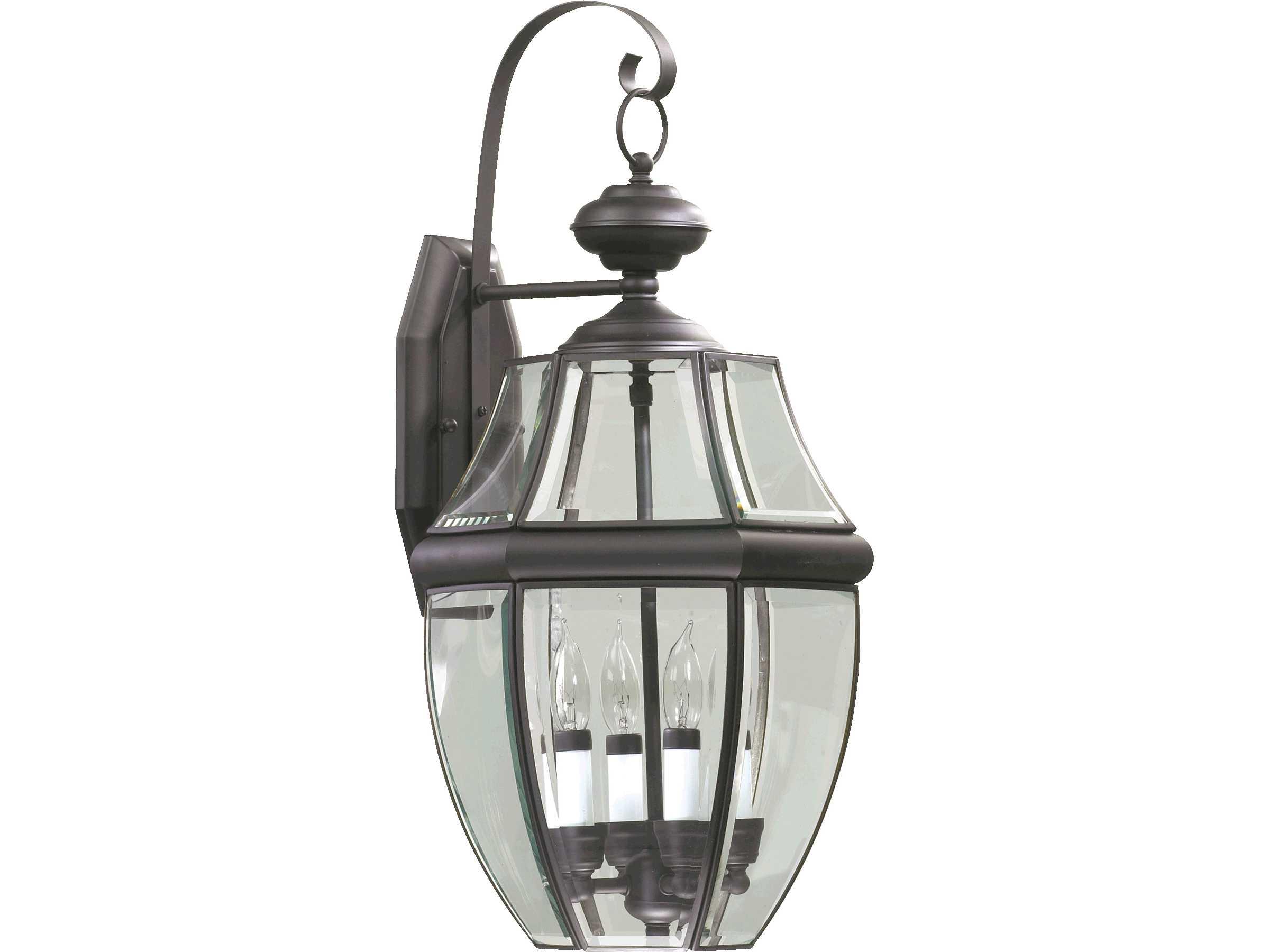 Quorum international carrington bronze four lights outdoor for International decor wall lights