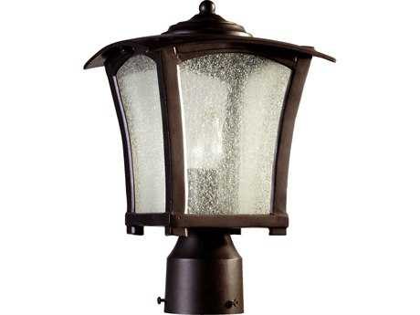 Quorum International Gable Oiled Bronze Outdoor Post Light