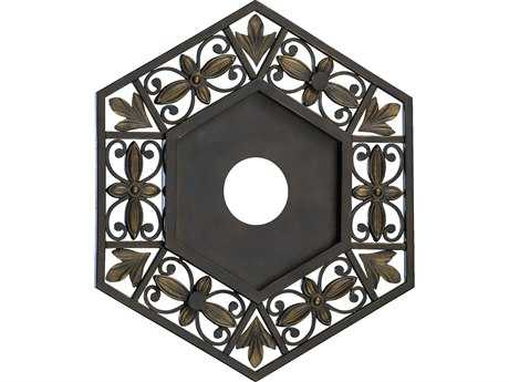 Quorum International Marcela Oiled Bronze Ceiling Medallion