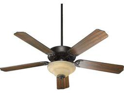 Quorum International Old World 52 Inch Indoor Ceiling Fan with Light