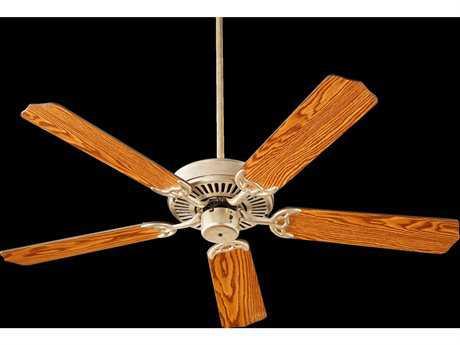 Quorum International Capri I Aged Silver Leaf Indoor Ceiling Fan