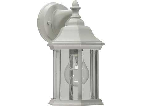 Quorum International White Outdoor Wall Lantern