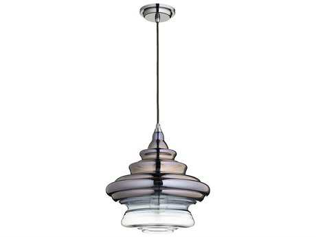 Quorum International Gunmetal 13.5'' Wide Pendant Light