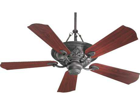 Quorum International Salon Toasted Sienna Three-Light 56'' Wide Indoor Ceiling Fan
