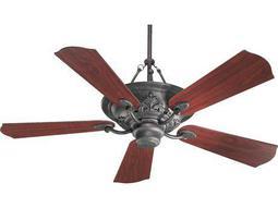 Quorum International Salon Toasted Sienna Three-Light 56'' Wide Indoor Ceiling Fan