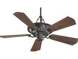 Quorum International Salon Old World 56 Inch Indoor Ceiling Fan with Light