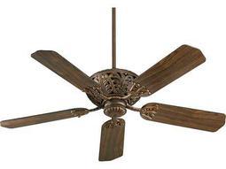 Quorum International Windsor Corsican Gold 52 Inch Indoor Ceiling Fan