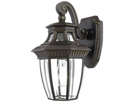 Quoizel Georgetown Dark Bronze Outdoor Wall Light