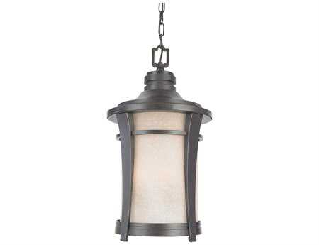 Quoizel Harmony Dark Bronze Three-Light Outdoor Hanging Light