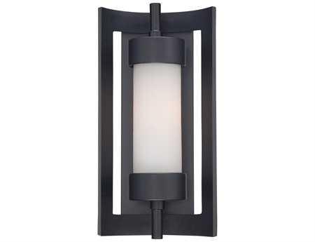 Quoizel Milan Mystic Black Outdoor Wall Light