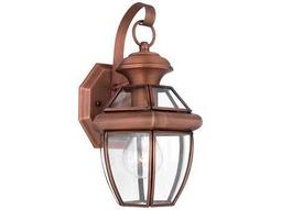 Quoizel Newbury Patinaed Solid Copper Outdoor Wall Light