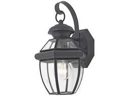 Quoizel Newbury Mystic Black Outdoor Wall Light