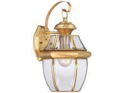 Quoizel Newbury Polished Brass Outdoor Wall Light