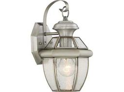 Quoizel Newbury Pewter 6.75'' Wide Outdoor Wall Sconce