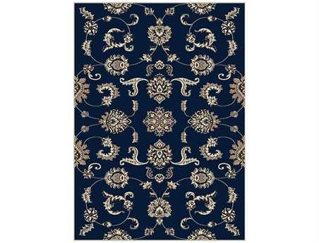 Radici Alba Rectangular Denim Area Rug