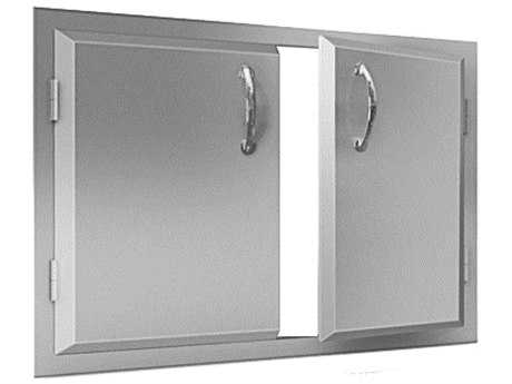 RCS Grills Agape Stainless 33in Wide Double Door