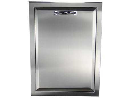 RCS Grills Agape Stainless Trash Drawer - Fully Enclosed