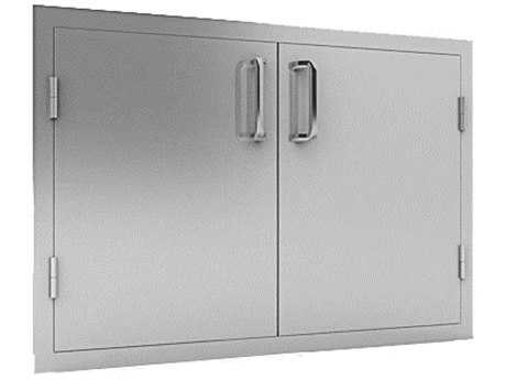 RCS Grills Stainless Double 33in Wide Door
