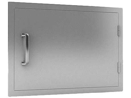 RCS Grills Stainless Horizontal Door