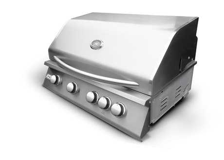RCS Grills 32in Premier Series Stainless Natural Gas Grill