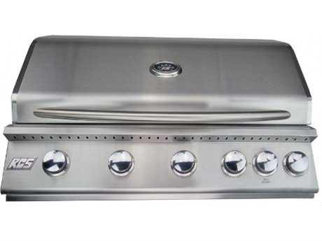 RCS 40 Premier Series Grill W/ Rear Burner - Propane