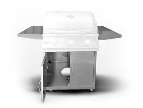 RCS Grills Stainless Cart for RJC26a Grill RCRJCSC